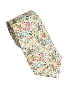 William Morris Golden Lily Pink Tie