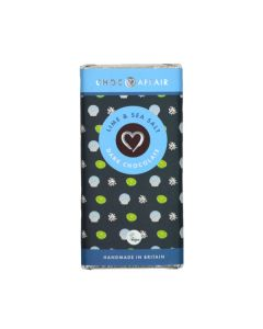 Lime and Sea Salt Chocolate Bar