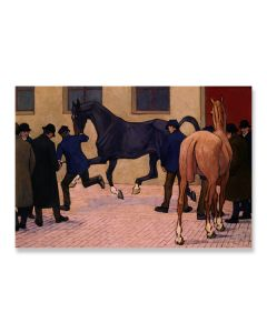 Showing at Tattersalls Greeting Card