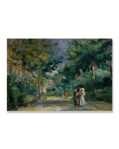 A Garden in Montmartre Greeting Card