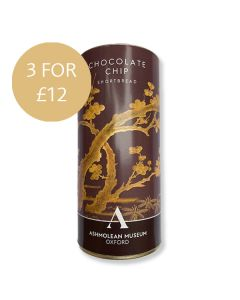 Ashmolean Chocolate Chip Shortbread 3 for £12 Promotion
