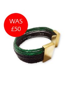 Rainforest Green Wazi Cuff Sale Image