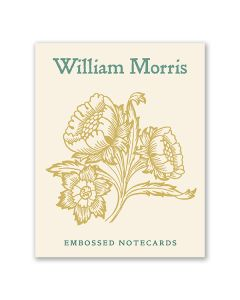 William Morris Embossed Notecard Box