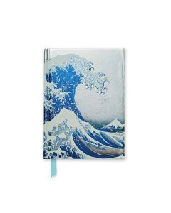 Hokusai: The Great Wave - Foiled Pocket Journal