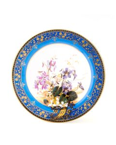 Goodge Violet Tin Plate