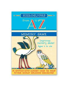 Hieroglyphs A to Z Memory Game