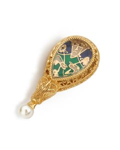 Alfred Jewel Brooch By Bill Skinner