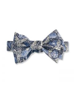 Morris Blue Poppy Bow Tie