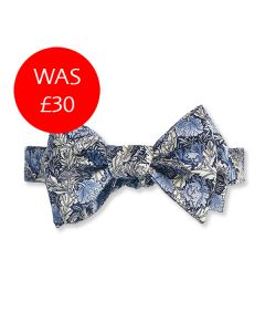 Morris Blue Poppy Bow Tie Sale Image