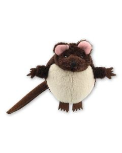 Brown Mouse Finger Puppet