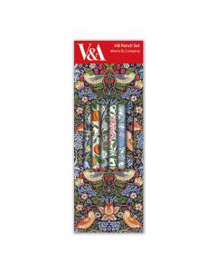 William Morris Pencil Set