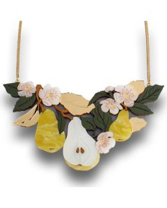 Pear Tree Statement Necklace