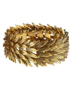 Layered Feather Bracelet