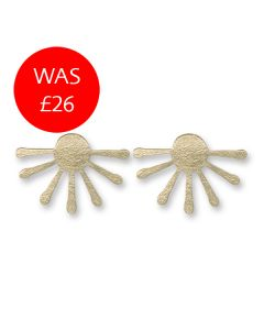 Inca Sunburst Earrings