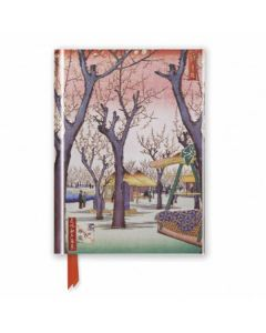 Hiroshige: Plum Garden - Foiled Pocket Journal
