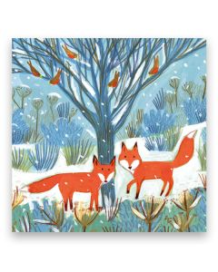 Festive Foxes Christmas Cards