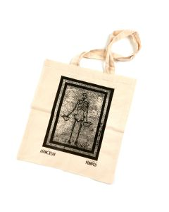 Pompeii Skeleton Tote Bag