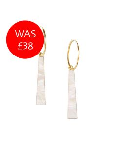 Tassel Hoop Earrings Sale Image