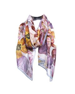 Dutch Tulips Chiffon Scarf