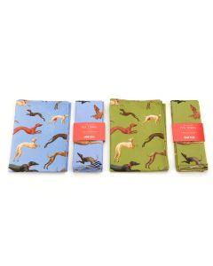 Hunt in the Forest Tea Towel
