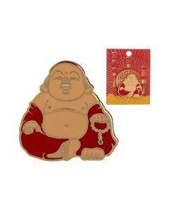 Lucky Buddha Pin Badge