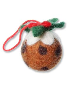 Mini Christmas Pudding Decoration