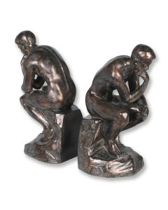 'The Thinker' Bookends