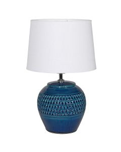Lamp Dark Blue Dimple