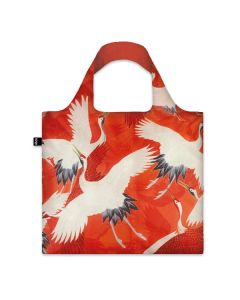Red Cranes Tote Bag