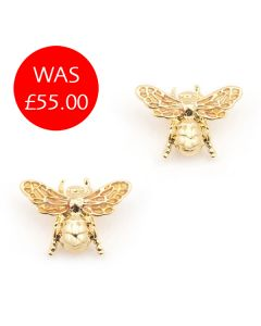 Queen Bee Stud Earrings
