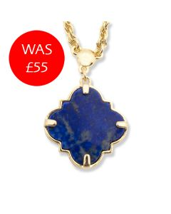 Bill Skinner Lapis Filigree Necklace