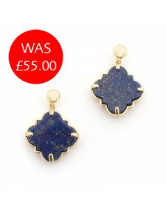 Bill Skinner Filigree Lapis Studs