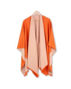 Tess Wrap in Orange Cream