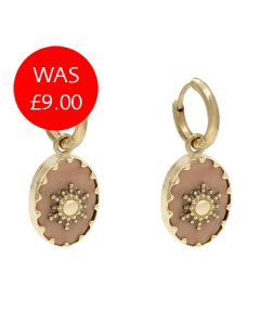 Viva La Vida Pink Earrings