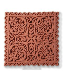Lace Design Terracotta Tile