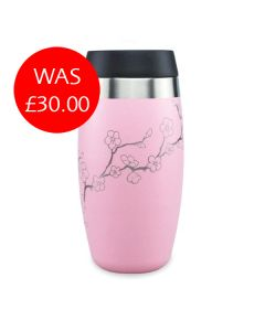 Pink Blossom Reusable Tumbler