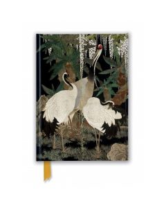 Ashmolean Cranes Foiled Journal