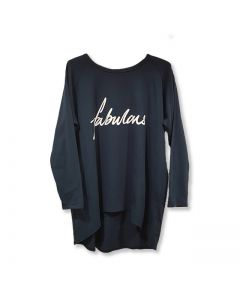 Navy Fabulous Top