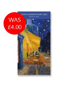 Café Terrace at Night 2021 Pocket Planner