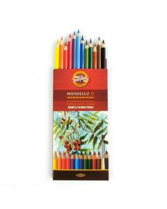 Aquarelle 12 Colour Pencil Set