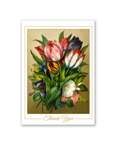 Holland: Thank You Tulip Notecard Box