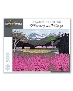 Ohtsu Flowers 500pc Jigsaw Puzzle