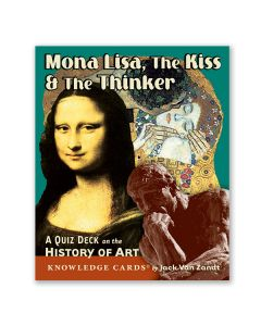Mona Lisa Art Quiz Deck of Cards