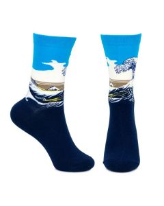 Ladies Great Wave Socks
