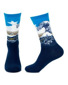 Mens Great Wave Socks