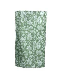 Green Garden Study Tea Towel