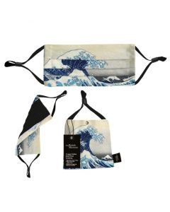 The Great Wave Face Mask