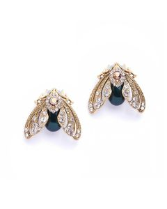 Moth Studs Earrings