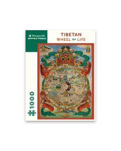 Tibetan Wheel of Life 1000pc Puzzle
