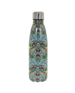 Strawberry Thief Teal Water Bottle